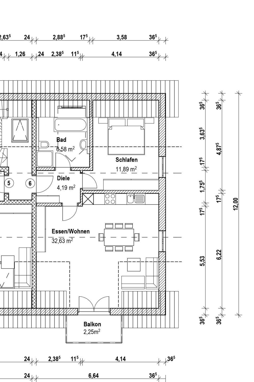 Schöne zwei Zimmer Wohnung in Eichenried bei Erding in Moosinning
