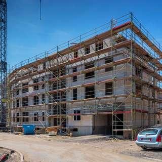 Selm: Moderne Neubauwohnung mit Einbauküche! 47 m² mit Balkon!Bezug Frühjahr 2021!