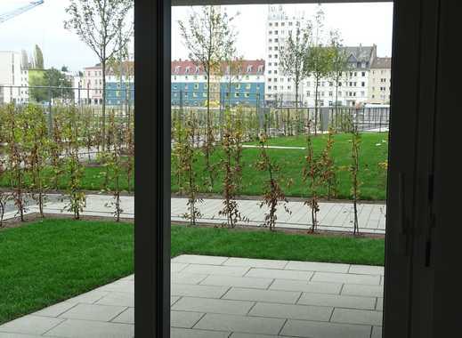 Wohnen auf der Hafeninsel - Wunderschöne 2-Zimmerwohnung mit Gartenanteil