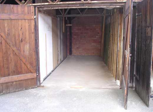 Garage, Lagerschuppen