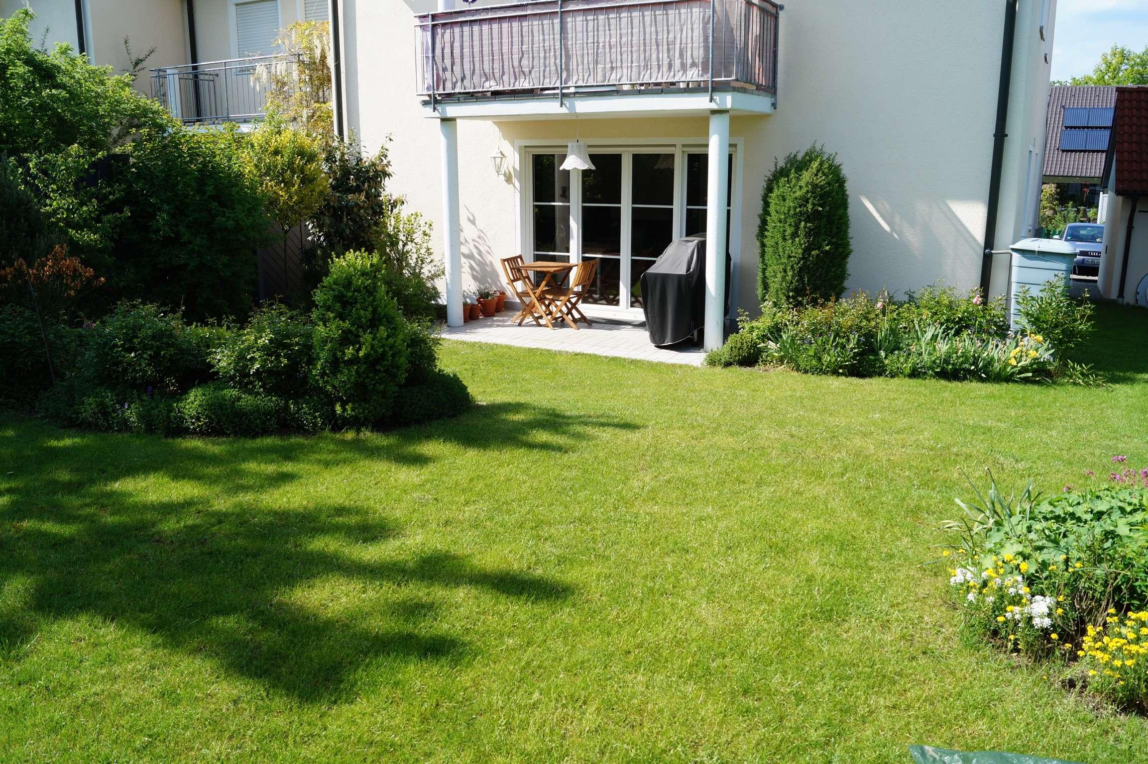 Eine Ebene, TOP-Erdgeschosswohnung mit sonnigem Garten, ATTRAKTIV & GRUNDRISSSTARK in Gaimersheim