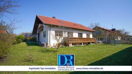 Großzügige Dachgeschosswohnung mit Balkon in Ilmendorf! in Geisenfeld