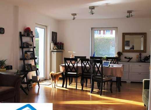 G.B.I.:OTTOBRUNN/Riemerling DHH 4Zi.+abgeböschter Wohnraum im UG 420 m² eingew. Garten Parkett ruhig