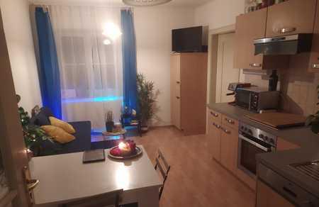 Geschmackvolle Wohnung mit eineinhalb Räumen und Einbauküche in Ingolstadt in Mitte (Ingolstadt)