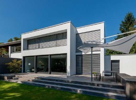 Bauhaus-Ästhetik: Luxuriöses Architektenhaus Top Interieur! Top Technik! Nähe Schloß Kalkum