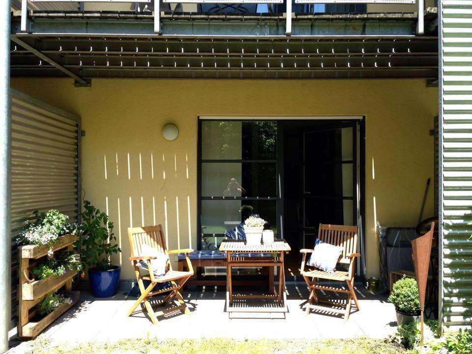 Tolle 2-Zimmer-Wohnung mit Terrasse ins Grüne! keine WG!