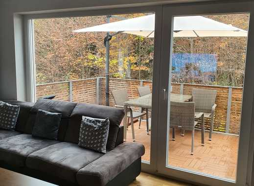Exklusive, November 2018 fertiggestellte 3-Zimmer-Wohnung mit Balkon und Tiefgarage in Geretsried
