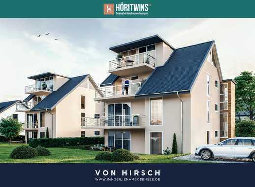 HÖRITWINS - Seenahe Neubauwohnung mit Garten in ruhiger Lage von Gaienhofen - 3 Zimmer EG Nr. 01