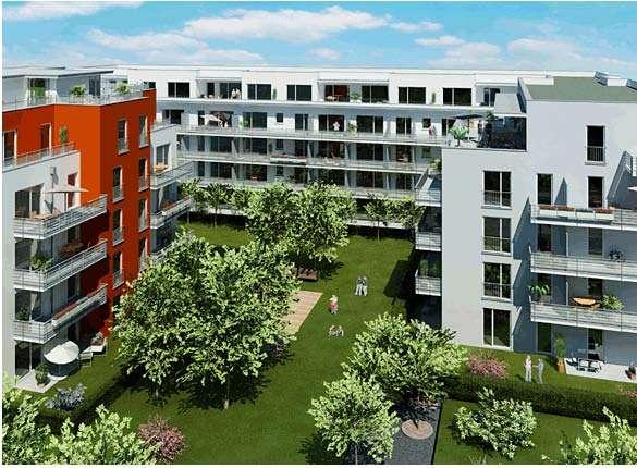 Exclusive 2-Zimmer-Wohnung mit Balkon und EBK in Schwabing, München