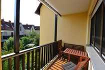 Helle 2-Zimmer-Wohnung mit Loggia - fußläufig
