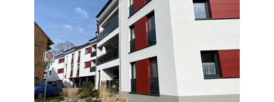 3-4 Zimmer-Neubau-Wohnung mit Fahrstuhl und Südbalkon