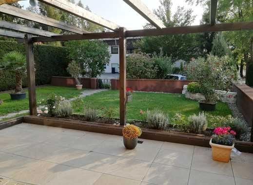 6-Zimmer-EG-Wohnung mit großer Terrasse und Einbauküche in Biberach