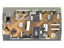 Exklusives Dachgeschoss in der List