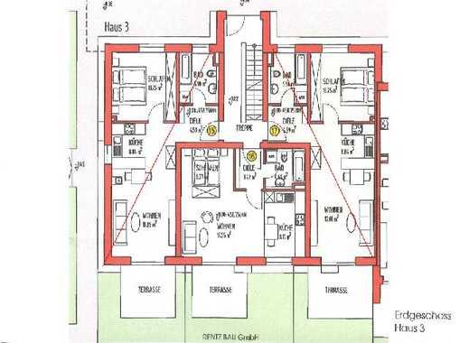 Exklusive, geräumige und neuwertige 1-Zimmer-Terrassenwohnung