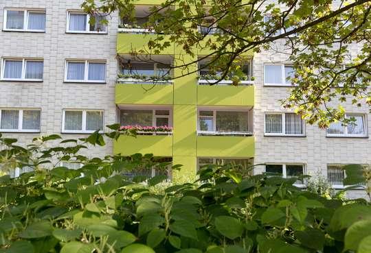 hwg - Großzügige Familienwohnung mit Balkon!