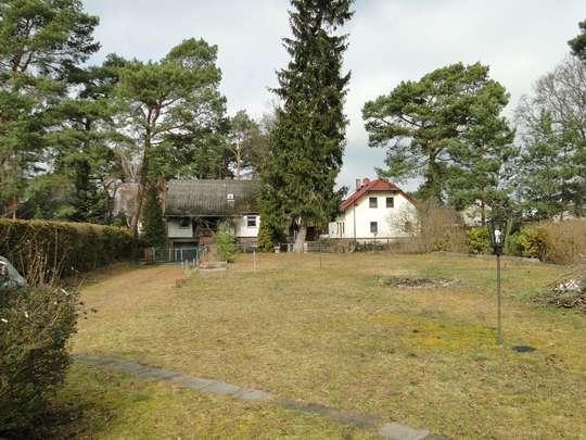 Voll erschlossenes Baugrundstück mit Gartenhaus am Südrand von Berlin - Bild 5