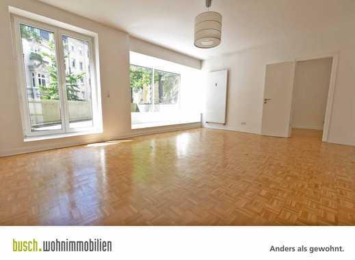 *MODERNISIERUNG NACH IHREN WÜNSCHEN* Sonnige 4-Raum Terrassenwohnung mitten in Pempelfort!