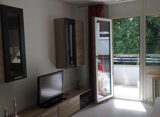 Wohnung mit Balkon und Blick ins Grüne