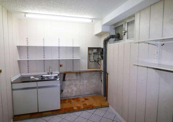 Waschraum Keller