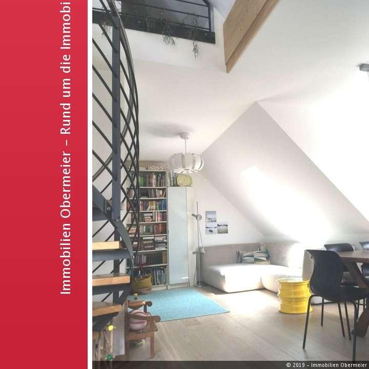 2.OG/DG-Architekten-Whg.m.Westbalk.,Nhe.Mangfallpl.U1 in Untergiesing (München)