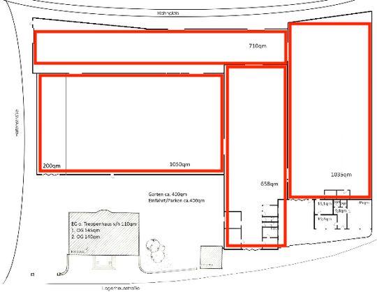 Gelände Plan
