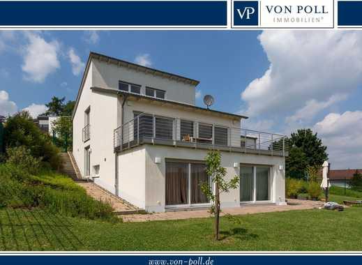 Witten-Buchholz: Freistehendes Einfamilienhaus mit Top-Ausstattung und weiter Pamorama-Aussicht