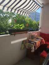 Bild Gemütlich-möbiliertes 12 qm Zimmer mit Balkon zu vermieten!