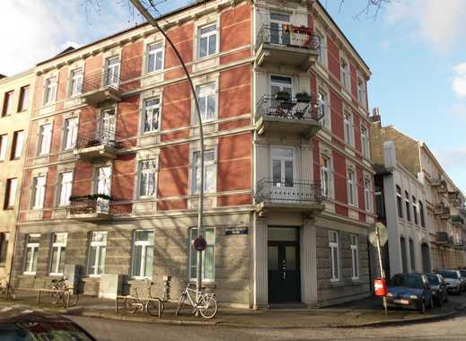 Helle 3-Zimmer-Wohnung mit Einbauküche und Balkon in Wandsbek, Hamburg