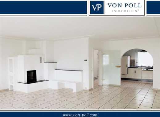 Charmante, großzügige Maisonette-Wohnung mit herrlichem Kamin in Ortskernlage von Ebersheim!
