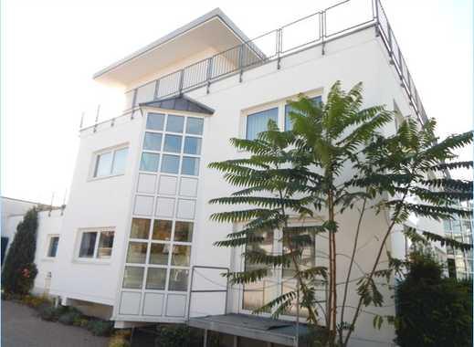 MAINZ-WEISENAU   1AA-Bürogebäude + Werkhalle + Chef-Villa + Tiefgarage + Stellpl.+ Hof  auf 2663 m²