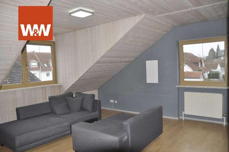 Gemütliches Nest unterm Dach, ideal für Single! in Reichertshofen