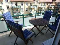 Bild 2 möblierte Zimmer mit großem Balkon zu vermieten
