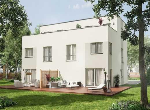 PROVISIONSFREI! Moderne Stadthaushälfte mit Dachterrasse und Weitblick!