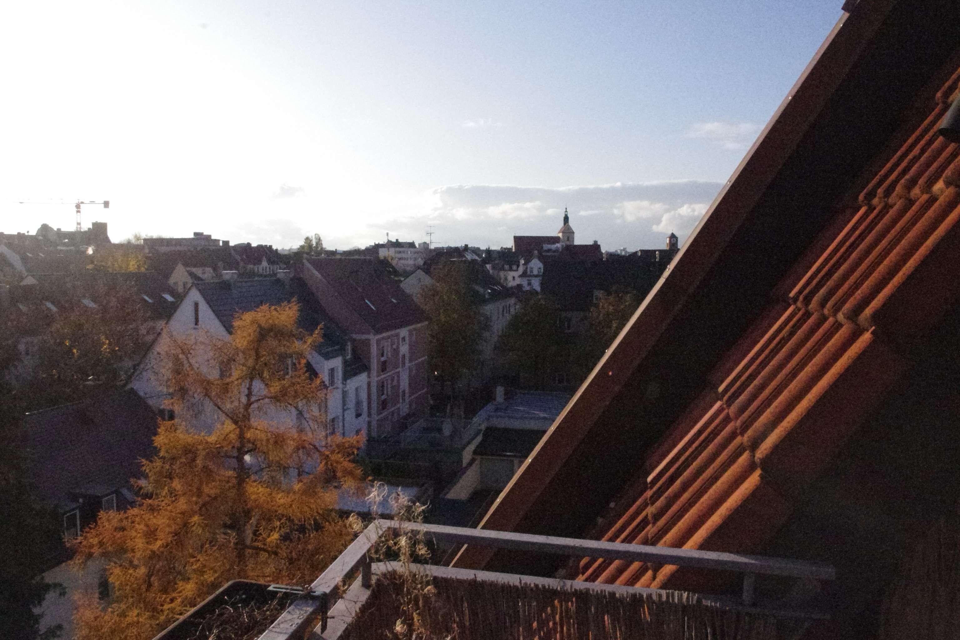 Helle 3 ZKB-DG-Wohnung – über den Dächern Augsburgs in Augsburg-Innenstadt