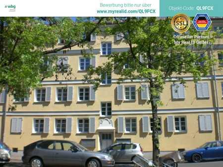 Ideal für Singles - schön geschnittene Wohnung mit Balkon nahe Wöhrder See! Bezugsfrei ab sofort! in Tullnau (Nürnberg)
