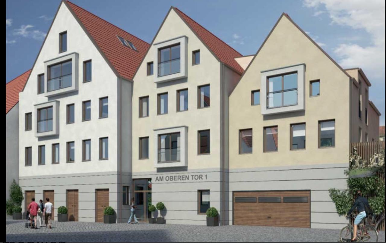 Neuwertige 3-Raum-Maisonette-Wohnung mit Einbauküche in Schrobenhausen in