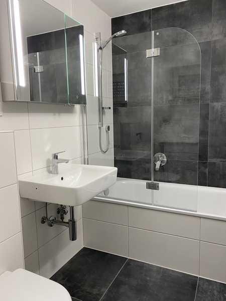 Erstbezug nach Sanierung: moderne vollmöblierte 2-Zimmer-Wohnung mit EBK und Balkon in München in Perlach (München)