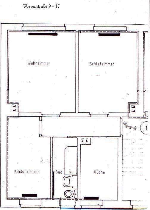 Wiesen 9-17 3-Raum-W