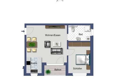 Die Perfekte 25 Zimmer Wohnung Mit Balkon