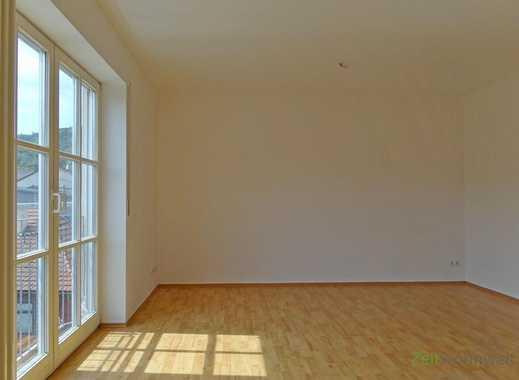 MGN: helle 3-Raum-Wohnung im 3. Obergeschoss direkt in der City, Blick über die Stadt