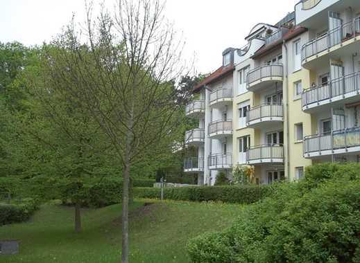 Praktische 2-R-Whg., Balkon, TG, Aufzg. in ruhiger Lage am Heiderand - Radeberger Vorstadt