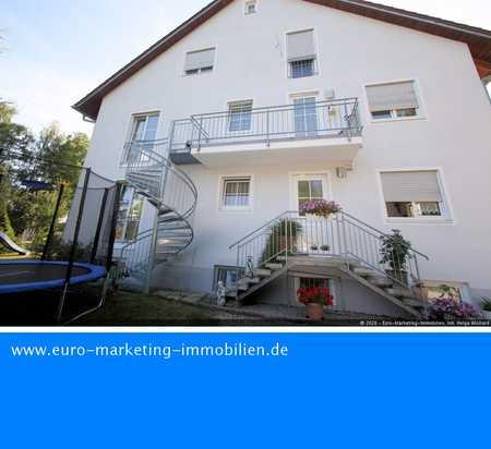 3 ZKB-Wohnung mit eigenem Eingang, stadtnah und doch in freier Natur! in Großmehring
