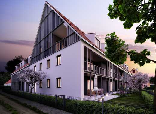 Traumhaft wohnen, modern mit offener Galerie, großer Loggia im Grünen & top Verkehrsanbindung