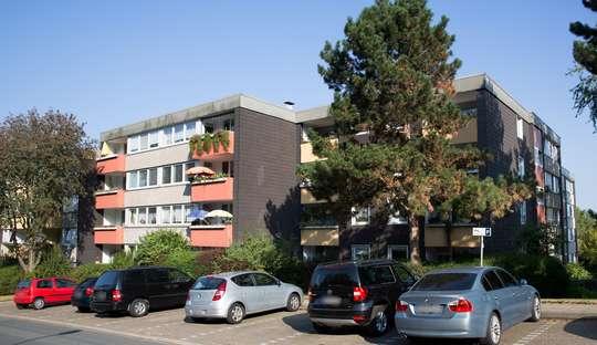 hwg - Für die kleine Familie - Gut geschnittene 3-Zimmer Wohnung mit Terrasse!