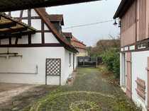 Altstadtflair Wohnhaus mit Scheune und