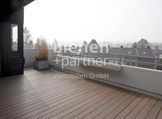 Dachgeschoss-Wohnung mit großzügiger Sonnenterrasse