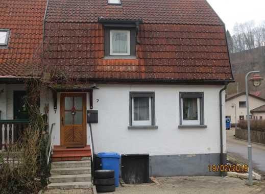 Häuschen mit vier Zimmern,kl.Garten u. Garage, Abtsgmünd TO.