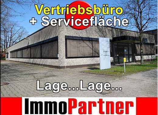 • Vertriebsbüro + Servicefläche • sehr gute Lage (Großmoorbogen) • Hamburg-Harburg