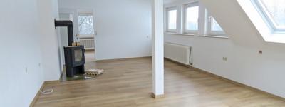 Idyllisch gelegene 3 Zimmer-Wohnung mit Kaminofen, Südbalkon und Garage in Bad Oeynhausen-Lohe