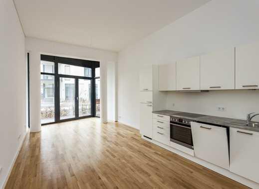 Jetzt mietfreien Monat sichern: Erstbezug**citynahes Apartment zum Hof mit Terrasse, Parkett & EBK